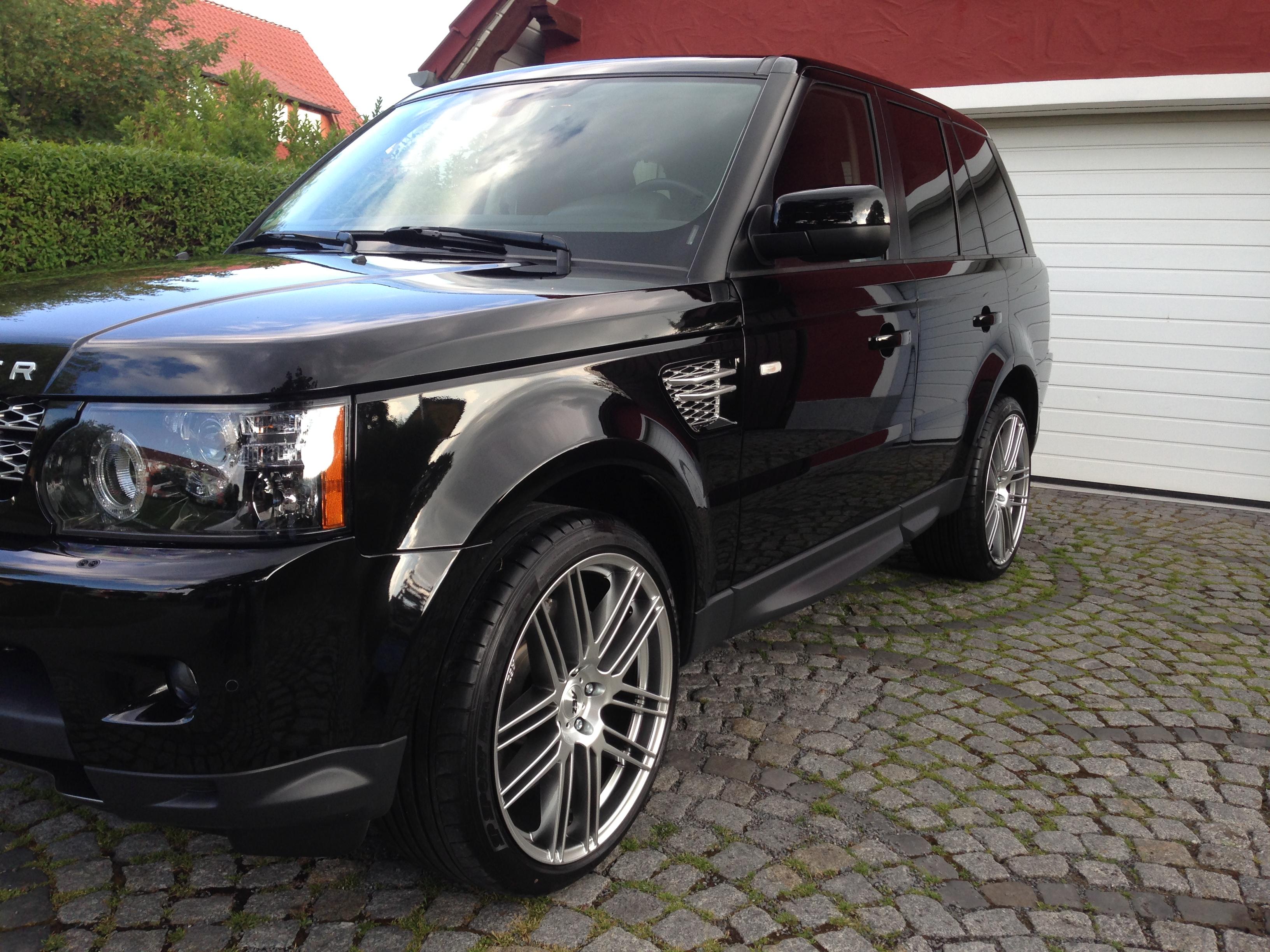 Autoreinigung Range Rover